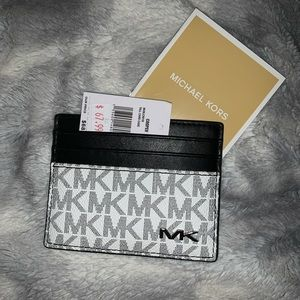 Michael Kors Cooper Card Case Leather - NWT